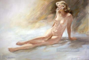 nd032eD impressionism female nude Oil Paintings